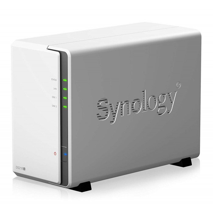 Synology 2 Bay Desktop NAS Enclosure DS218J