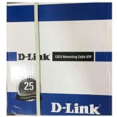 D-Link Cat6 305-meter UTP 24 AWG Cable Rolls