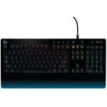 Logitech G213 Prodigy RGB Gaming Keyboard - Black