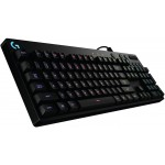 Logitech G810 Orion Spectrum RGB Mechanical Gaming Keyboard, QWERTY, - Black