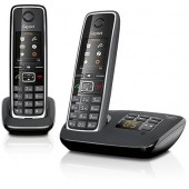 Gigaset C530A DUO Twin Cordless Telephone Black