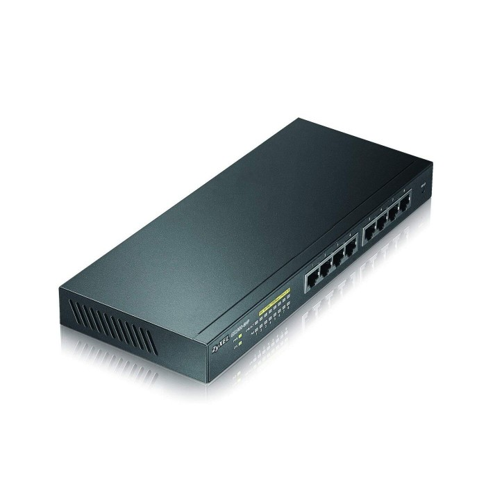 Zyxel 8 port GbE Smart Managed Switch GS1900-8HP image