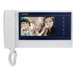 Commax 7 inch TFT LCD screen Video Door Phone With Handset