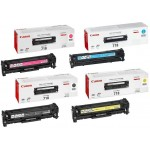 Canon 718 Laser Ink Toner 4 Color Set