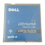 Dell 3W22T LTO-6 Ultrium Data Cartridge 2.50TB / 6.25TB