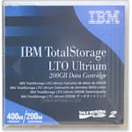 IBM LTO 2 Tape 200/400 GB Cartridge 08L9870