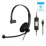 Sennheiser SC 30 USB ML high quality single-sided headset/Skype for Business